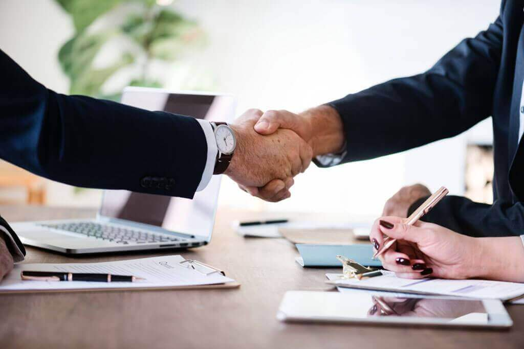 agreement business slider
