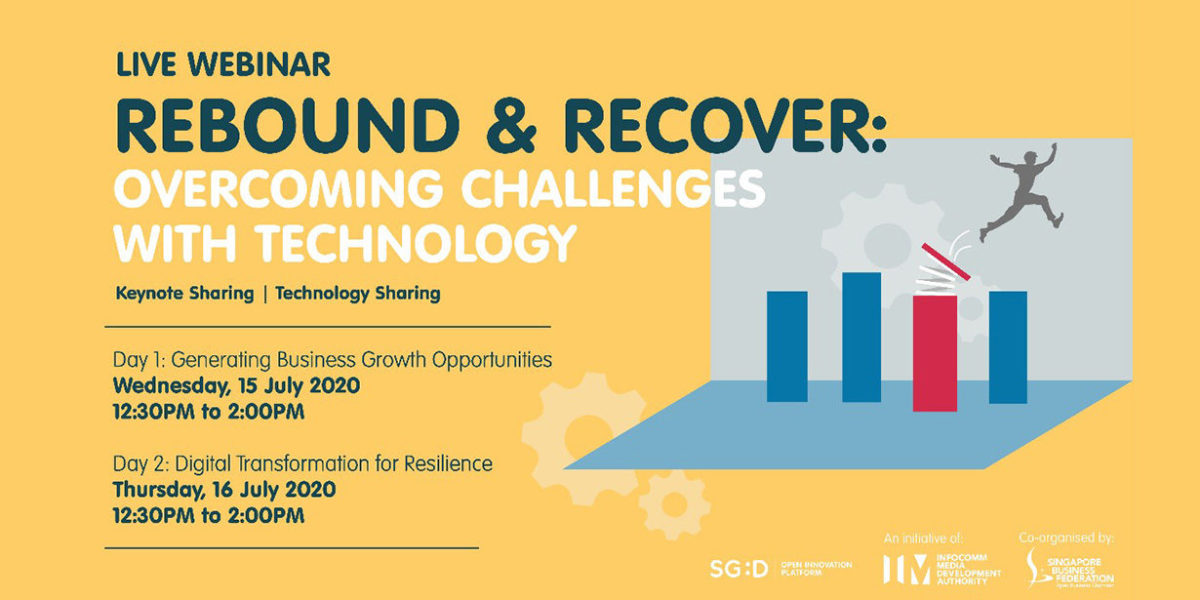 Rebound & Recover: Innovation Showcase on 16 July 2020 - Manifera Blog