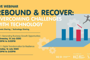 Rebound & Recover: Innovation Showcase on 16 July 2020