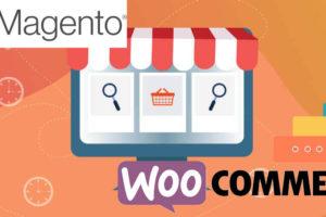 Magento eCommerce or WooCommerce WordPress