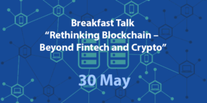 Breakfast Talk: Rethinking Blockchain – Beyond Fintech and Crypto - Manifera - banner