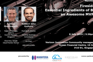Fireside Chat Event in Singapore on 8 July 2019