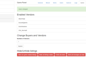 Dark Market Serious Game - Manifera Portfolio