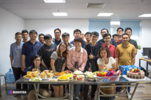 Birthday Party Q1, 2021 for Manifera Team