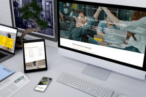 Mockup ENGAGEMENT FOR EMPLOYEES -Manifera client