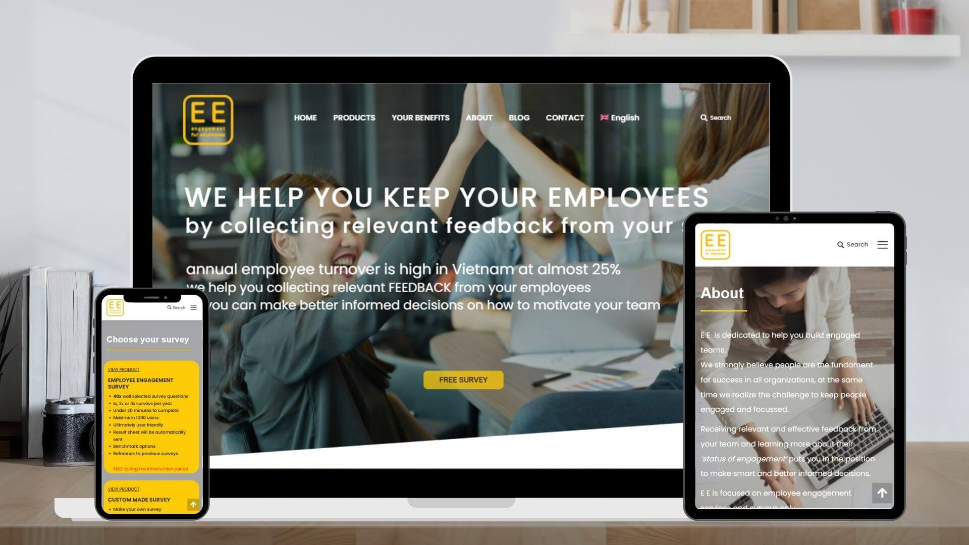 Engagement for Employees - Manifera clients